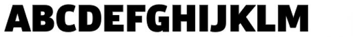 Bulo ExtraBlack Font UPPERCASE