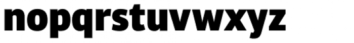 Bulo ExtraBlack Font LOWERCASE
