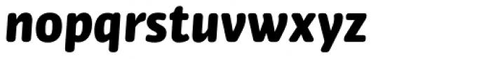 Bulo Rounded Black Italic Font LOWERCASE