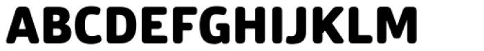 Bulo Rounded Black Font UPPERCASE