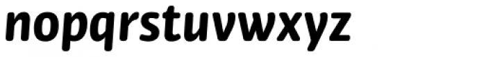 Bulo Rounded Bold Italic Font LOWERCASE