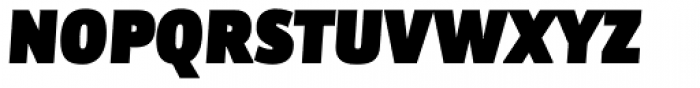 Bulo UltraBlack Italic Font UPPERCASE