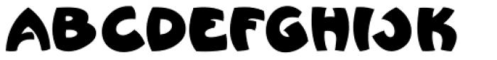 Bum Steer JNL Font UPPERCASE