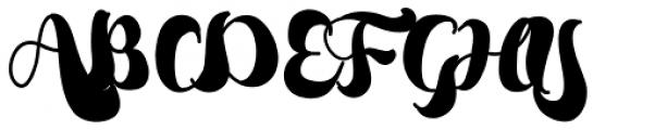 Bumblebees Font UPPERCASE