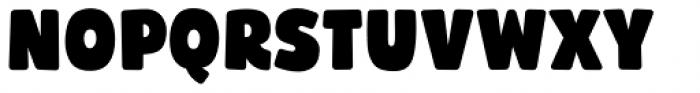 Bumpo Soft Narrow Font UPPERCASE