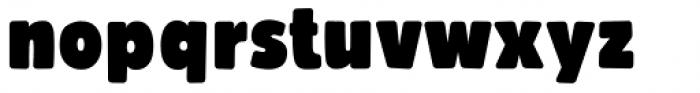 Bumpo Soft Narrow Font LOWERCASE