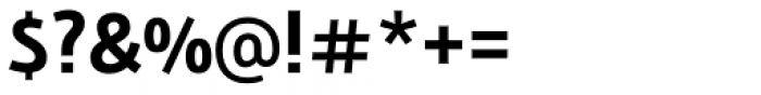 Bunaero Pro Bold Up Font OTHER CHARS