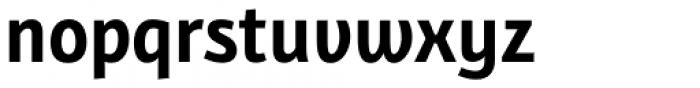 Bunaero Pro Bold Up Font LOWERCASE