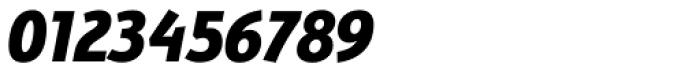 Bunaero Pro Extra Bold Italic Font OTHER CHARS