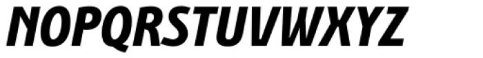 Bunaero Pro Extra Bold Italic Font UPPERCASE