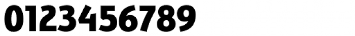 Bunaero Pro Extra Bold Up Font OTHER CHARS