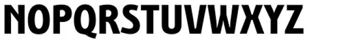 Bunaero Pro Extra Bold Up Font UPPERCASE