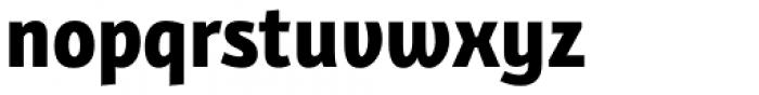 Bunaero Pro Extra Bold Up Font LOWERCASE