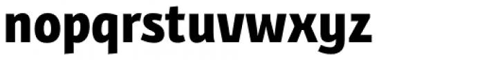 Bunaero Pro Extra Bold Font LOWERCASE