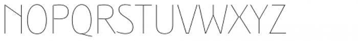 Bunaero Pro Hair Classic Font UPPERCASE