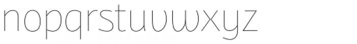 Bunaero Pro Hair Up Font LOWERCASE