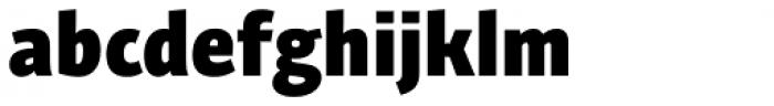 Bunaero Pro Heavy Classic Font LOWERCASE