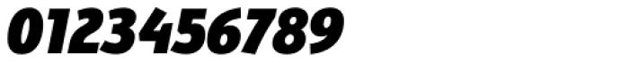 Bunaero Pro Heavy Italic Font OTHER CHARS