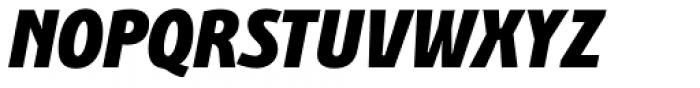 Bunaero Pro Heavy Italic Font UPPERCASE
