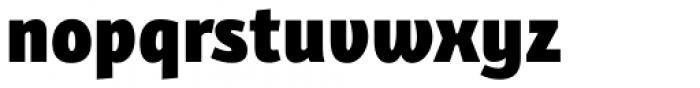Bunaero Pro Heavy Up Font LOWERCASE