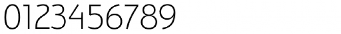 Bunaero Pro Light Classic Font OTHER CHARS