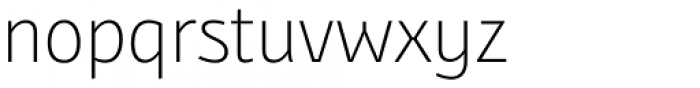 Bunaero Pro Light Font LOWERCASE