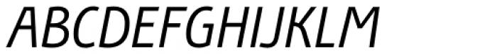 Bunaero Pro Regular Italic Font UPPERCASE