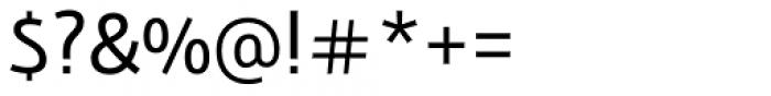 Bunaero Pro Regular Font OTHER CHARS