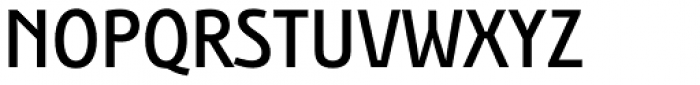 Bunaero Pro Semi Bold Classic Font UPPERCASE