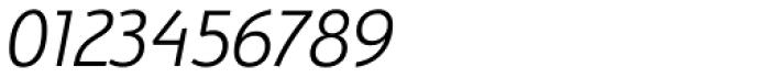 Bunaero Pro Semi Light Italic Font OTHER CHARS