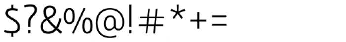 Bunaero Pro Semi Light Font OTHER CHARS