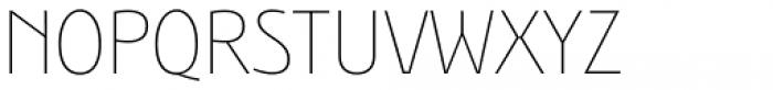 Bunaero Pro Thin Classic Font UPPERCASE
