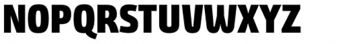 Bunday Clean Heavy Font UPPERCASE