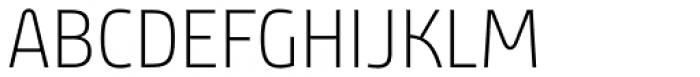 Bunday Clean Ligh Font UPPERCASE