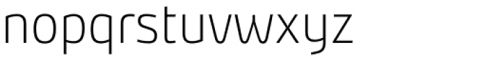 Bunday Clean Ligh Font LOWERCASE