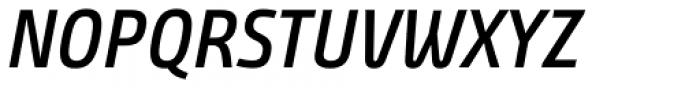 Bunday Clean Semi Bold Up It Font UPPERCASE