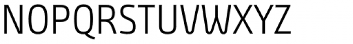 Bunday Clean Semi Light Up Font UPPERCASE