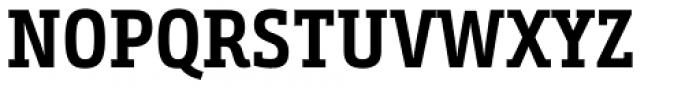 Bunday Slab Bold Up Font UPPERCASE