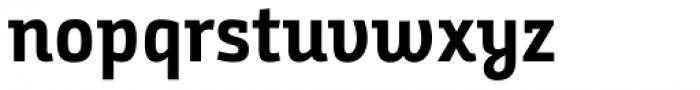 Bunday Slab Bold Up Font LOWERCASE