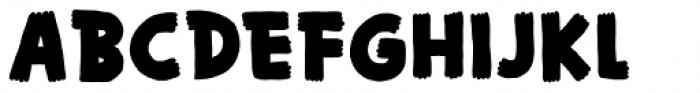 Bungler Regular Font UPPERCASE