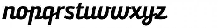 Bunita Swash Bold Font LOWERCASE