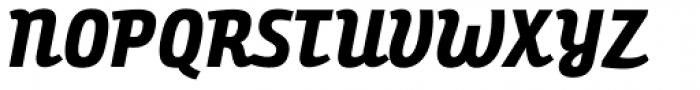 Bunita Swash ExtraBold Font UPPERCASE