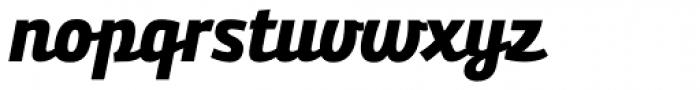 Bunita Swash ExtraBold Font LOWERCASE