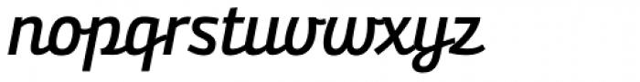 Bunita Swash SemiBold Font LOWERCASE