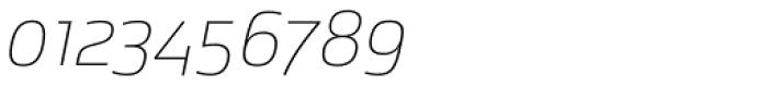 Bunita Swash Thin Font OTHER CHARS