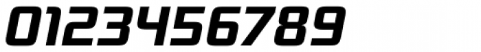 Bunken Tech Sans Pro Bold Italic Font OTHER CHARS