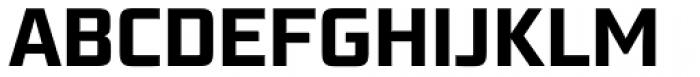 Bunken Tech Sans Pro Bold Font UPPERCASE