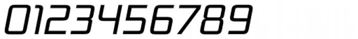 Bunken Tech Sans Pro Book Italic Font OTHER CHARS