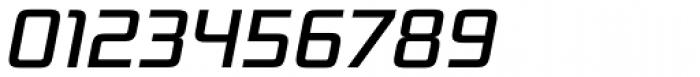 Bunken Tech Sans Pro Medium Italic Font OTHER CHARS