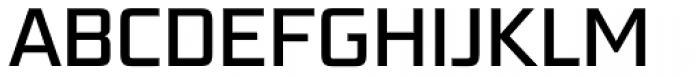 Bunken Tech Sans Pro Medium Font UPPERCASE